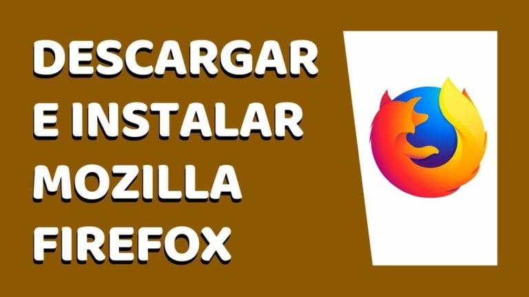 Cómo actualizar Mozilla Firefox