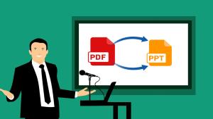Cómo convertir un archivo pdf a Microsoft PowerPoint en 5 pasos