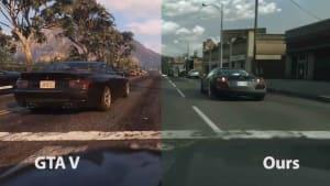 Así luce GTA V con una IA fotorrealista