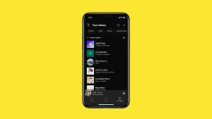 Spotify estrena nuevo diseño en smartphones