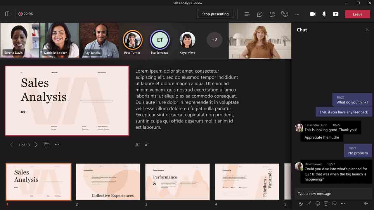 Microsoft Teams estrena los seminarios web