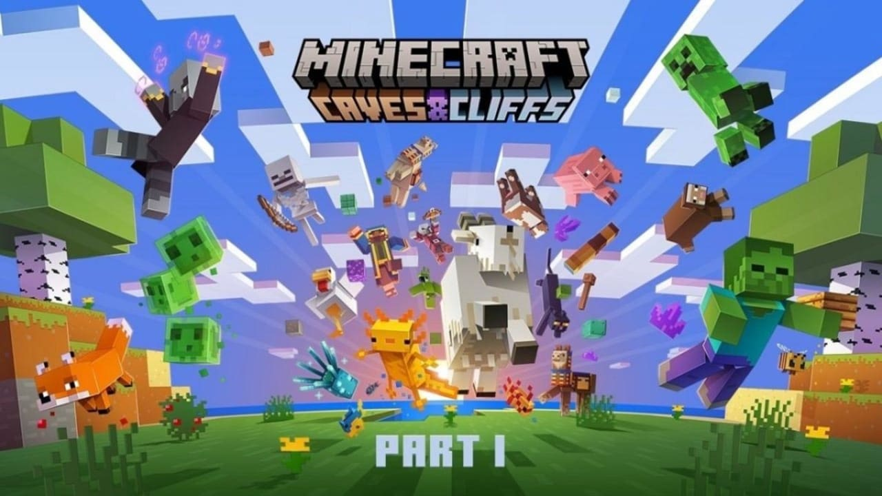 Todas las novedades de Minecraft 1.17: Caves & Cliff