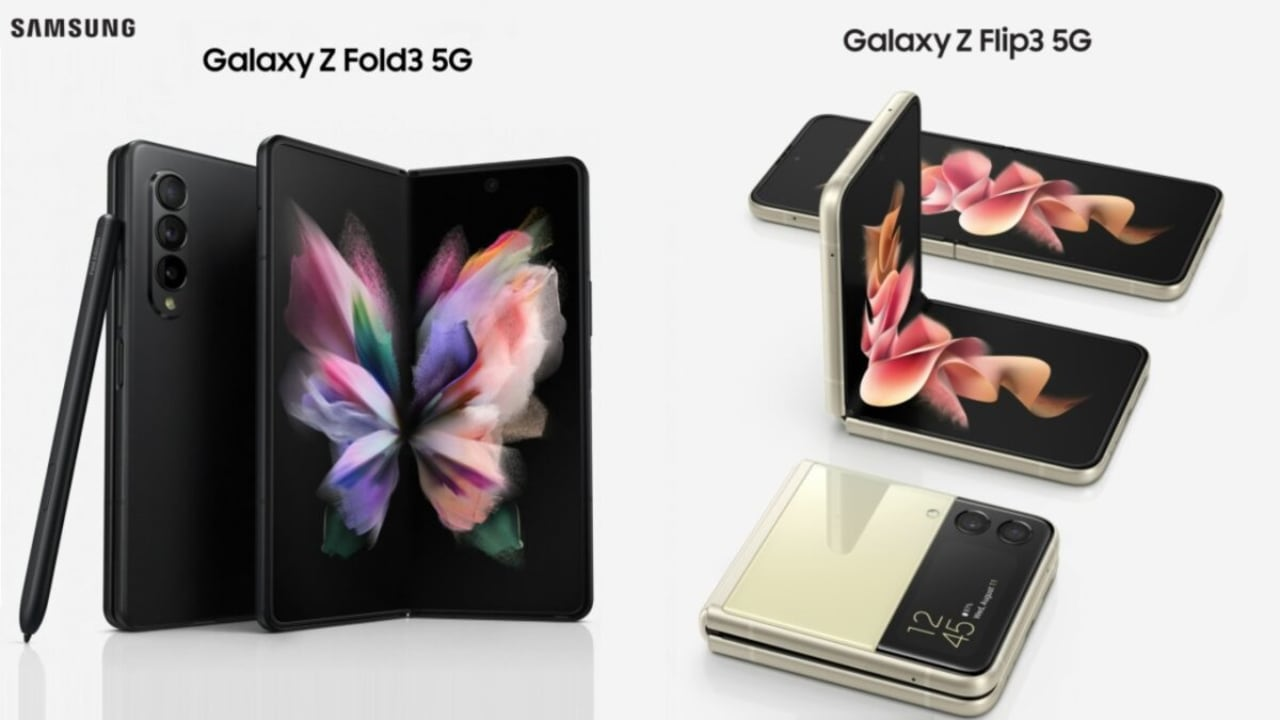 Samsung reinventa los móviles con Galaxy Z Fold3 5G y Galaxy Flip3 5G