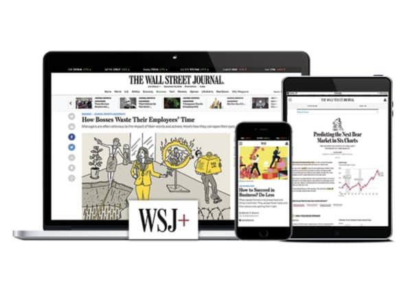 the wall street journal news site