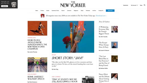 new yorker website