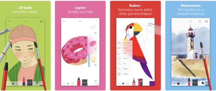 Tayasui sketch app