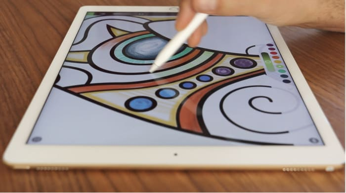 Pigment coloring app