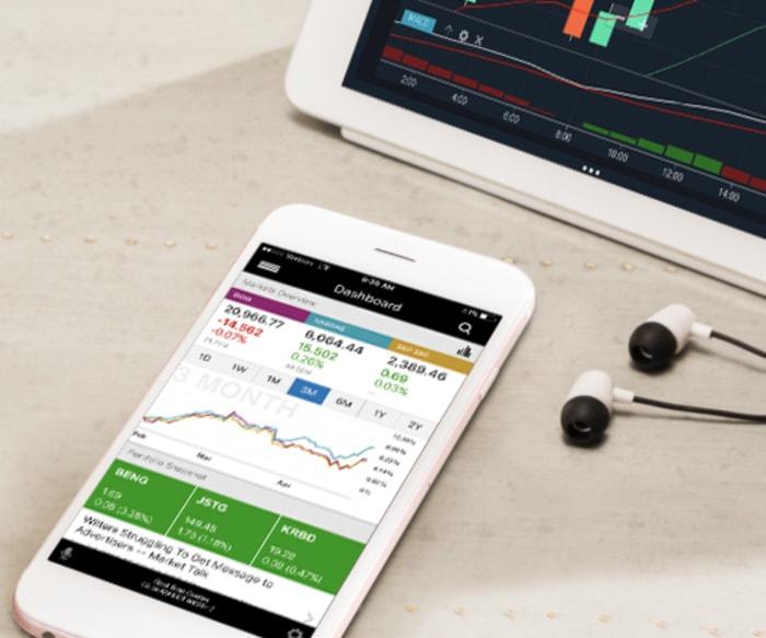 etrade mobile investing app