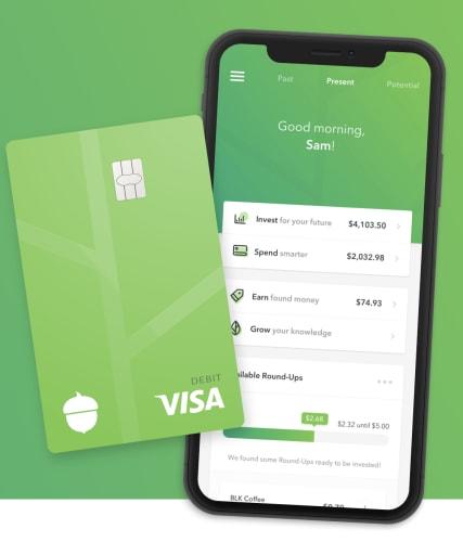 acorns easy investing app