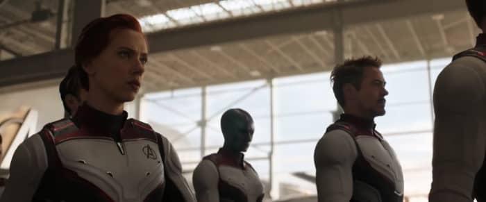 Scarlet Widow, Nebula, Tony Stark Endgame