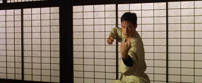 Matrix dojo fight