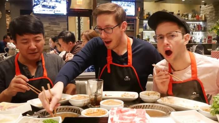 YouTube food vloggers