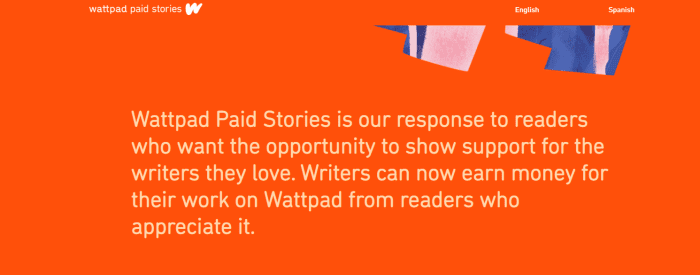 Wattpad paid stories