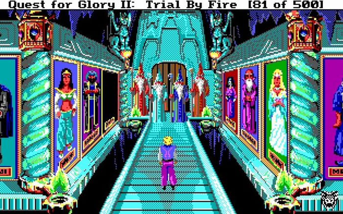Quest for Glory II Trail By Fire WIT