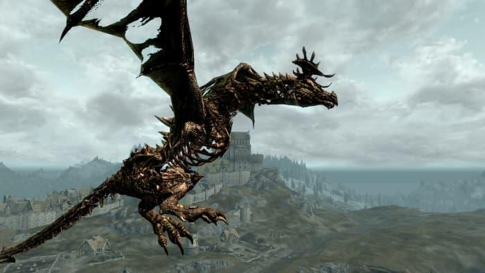 Skyrim Diverse Dragons Collection 3