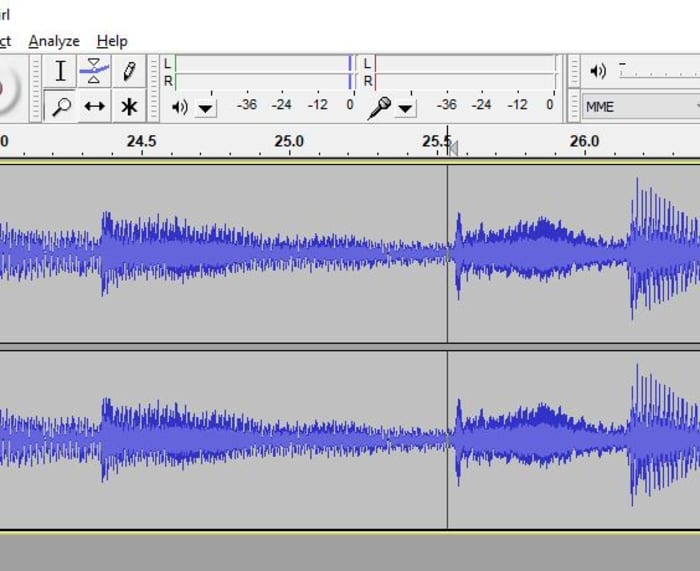 Audacity zoom feature