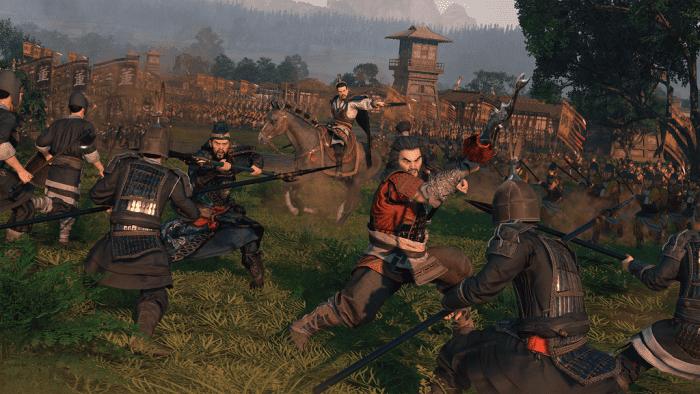 Total War: Three Kingdoms battle