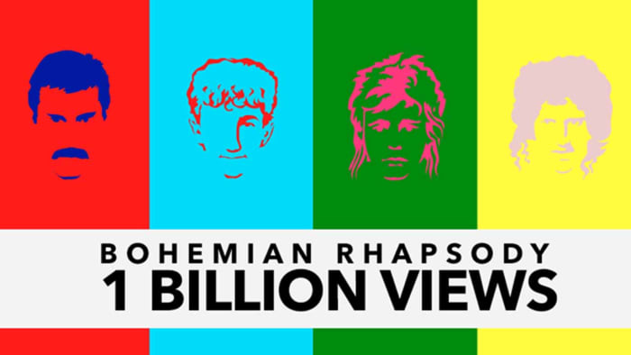 Bohemian Rhapsody milestone