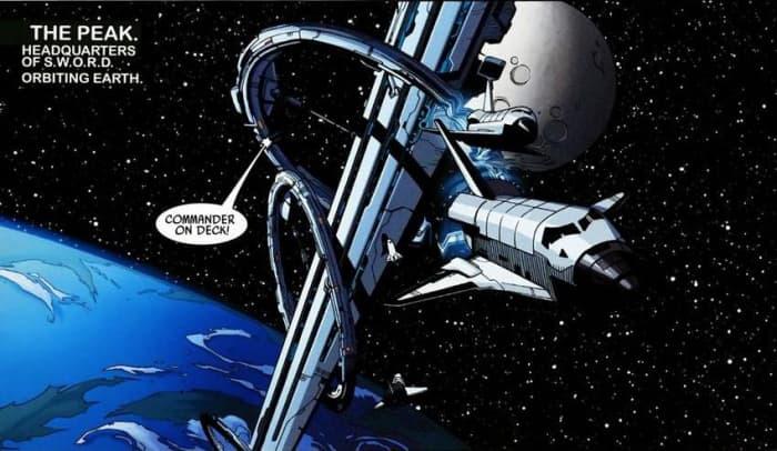 SWORD Marvel Comics