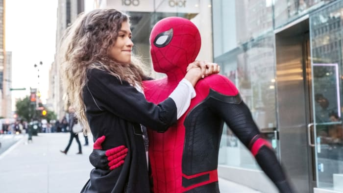 """""""Spider-Man: Far From Home"""" MJ Spidey"""