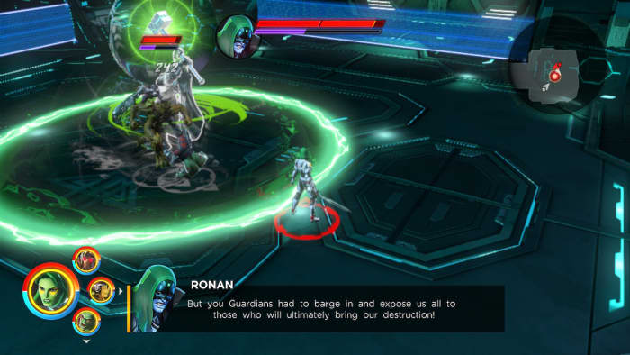 Marvel Ultimate Alliance 3 Ronan boss fight