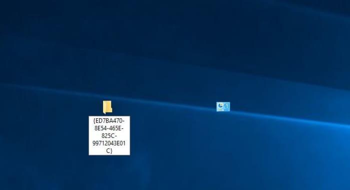 Windows 10 God Mode icon change