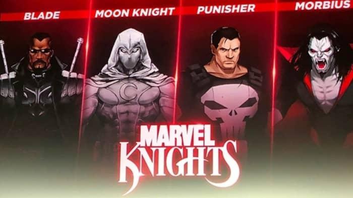 Marvel Ultimate Alliance 3 Marvel Knights DLC