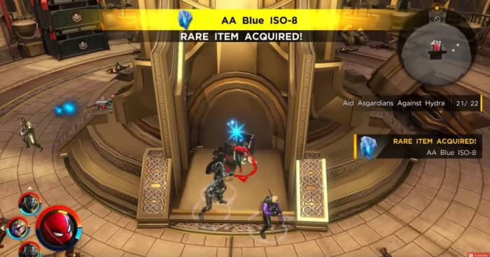 Marvel Ultimate Alliance 3 AA blue ISO-8 XP