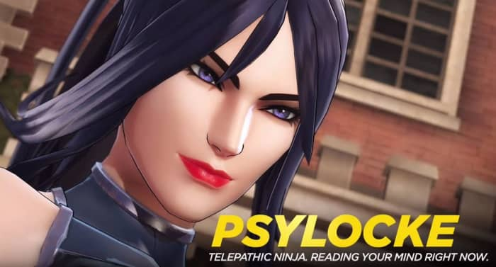 Marvel Ultimate Alliance 3 Psylocke