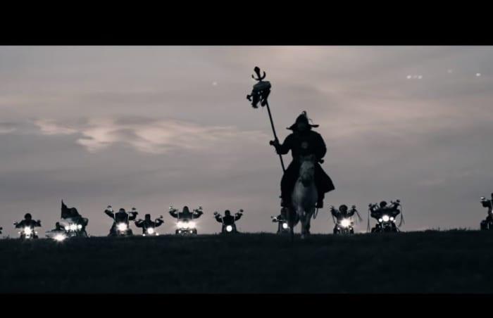 The HU music video