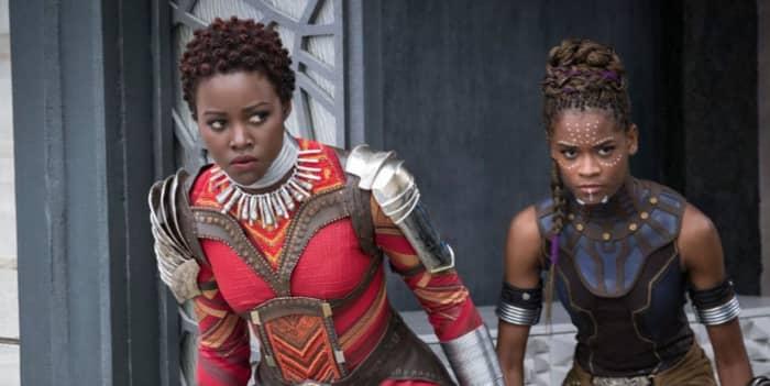 Marvel Black Panther Lupita Nyong'o Nakia Shuri