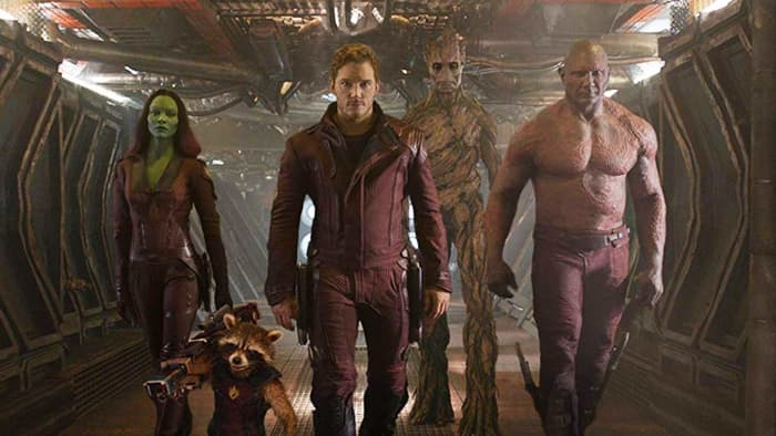 Guardians of the Galaxy hallway