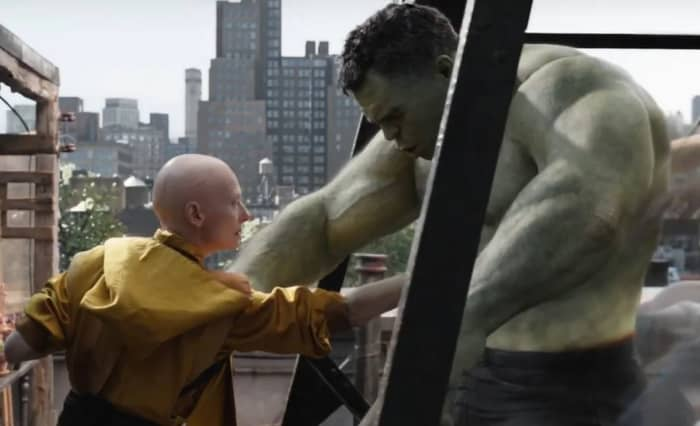 Avengers: Endgame Hulk Ancient One
