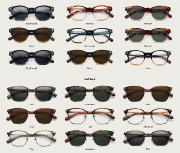 David Kind online glasses selection