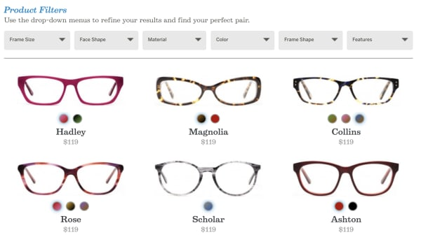 glasses felix and iris