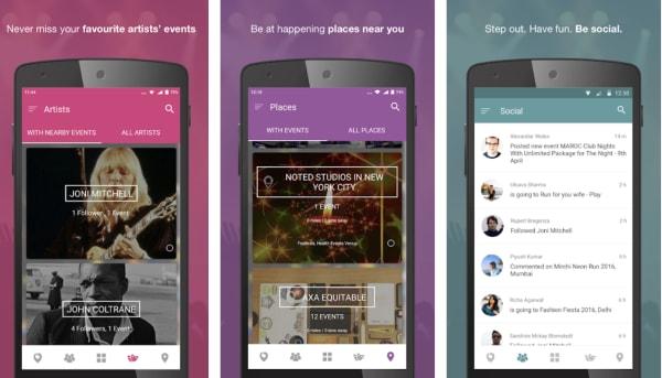 nearify event app