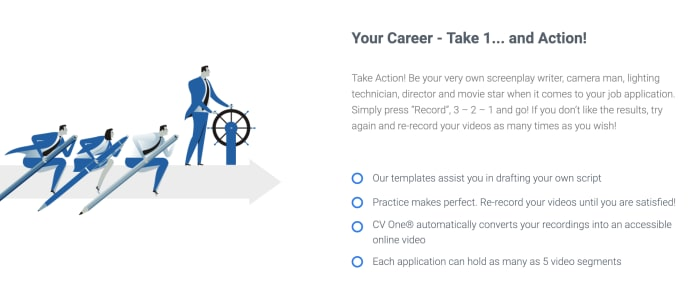 CV One Video Resume