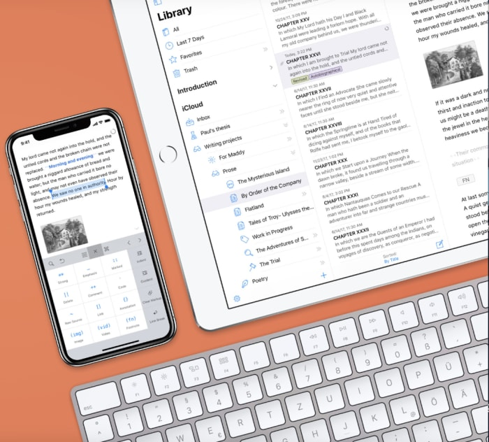 Ulysses mac iOS