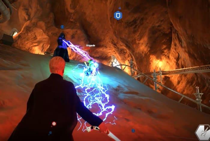 Battlefront 2 Yoda Dooku lightning