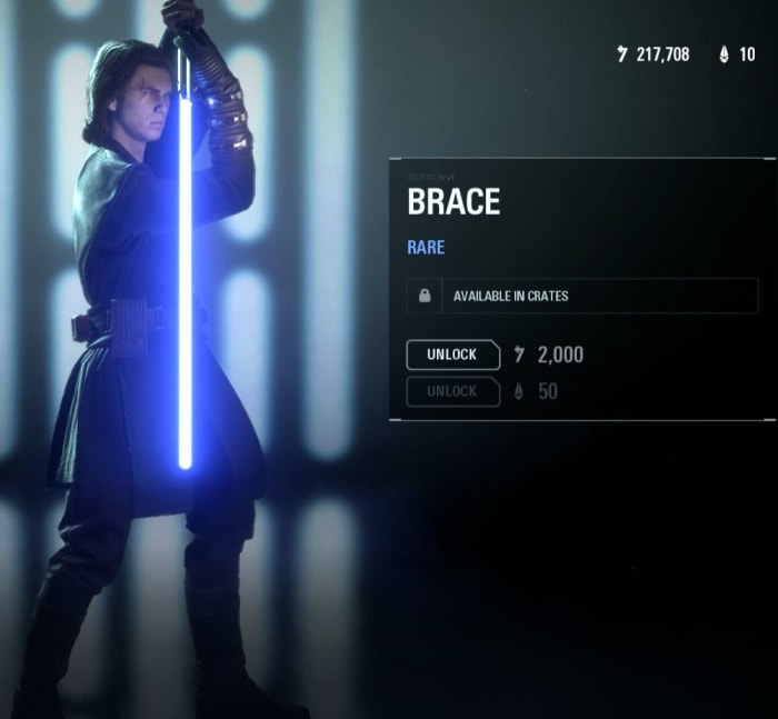 Anakin Victory pose Brace