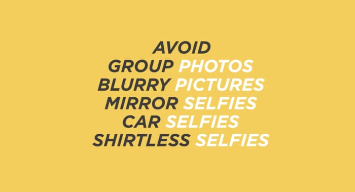 things to avoid bumble profile