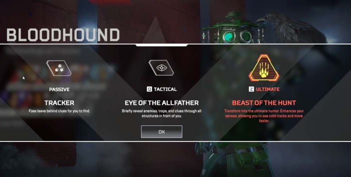 Apex Legends Bloodhound abilities