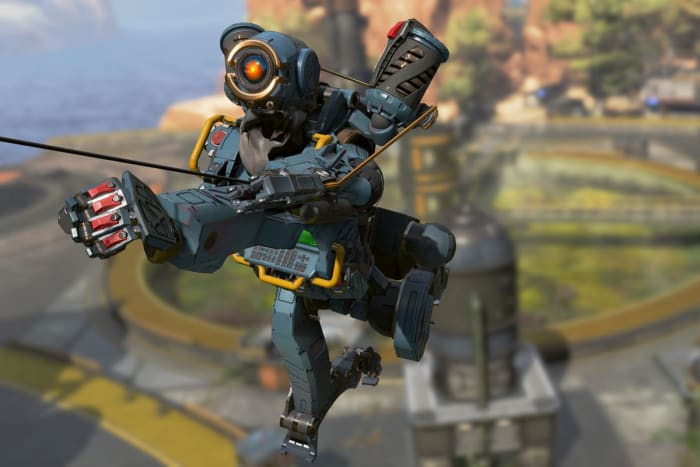 Apex Legends Pathfinder grappling hook tactical