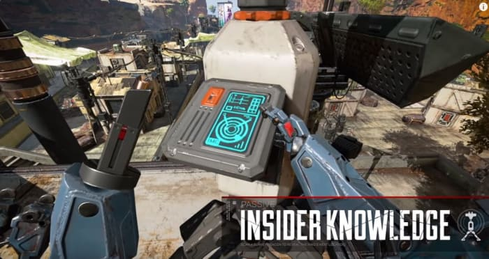 Apex Legends Pathfinder insider knowledge passive