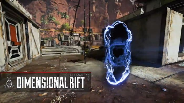Apex Legends Wraith dimensional rift ultimate