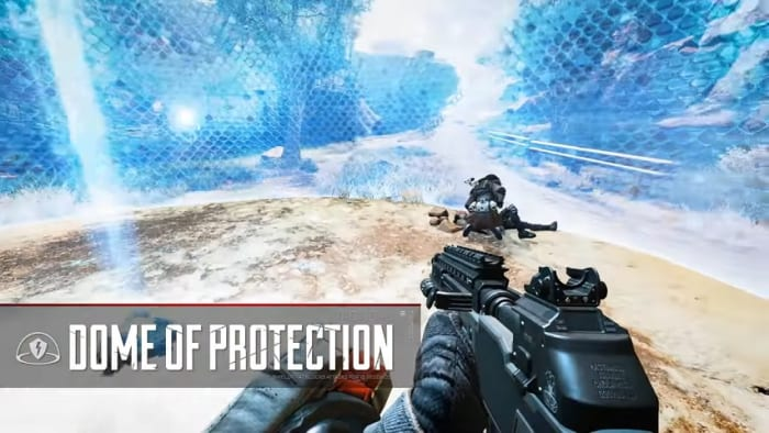 Apex Legends Gibraltar dome of protection tactical