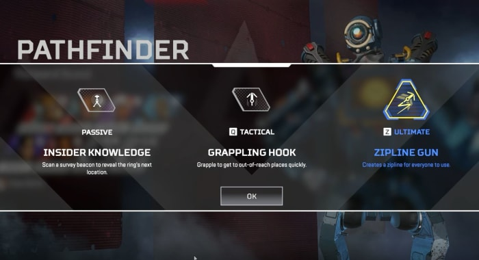 Apex Legends Pathfinder abilities
