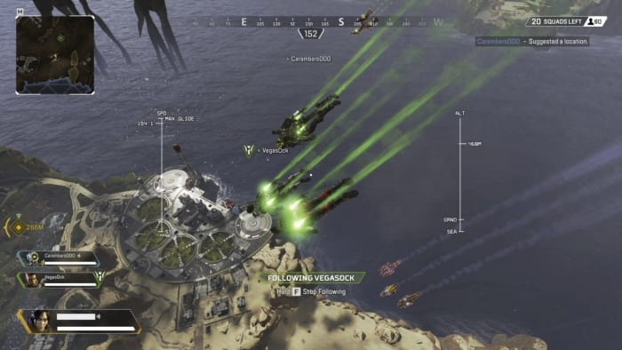 Apex Legends free fall drop