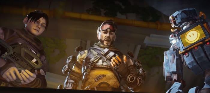 Apex Legends trailer Mirage Wraith Pathfinder