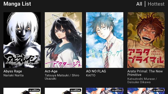manga plus manga list